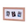Kép 2/7 - Fujifilm Instax Mini natúr fa képkeret ( 3db fotó)