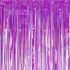 Kép 3/3 - Glitteres party fuggony fotohatter lila instaxshop webaruhaz 03