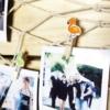 Kép 3/3 - Flamingó mintás Instax dekor csipesz