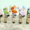 Kép 1/3 - Instax mini flamingo csipesz
