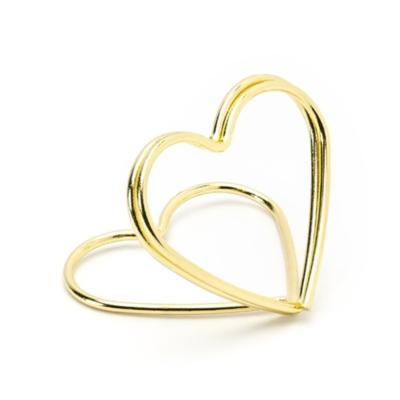 Instax Asztali Képtartó – Szív - Arany