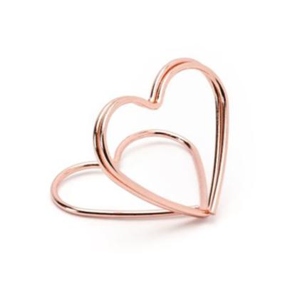 Instax Asztali Képtartó – Szív - Rose Gold