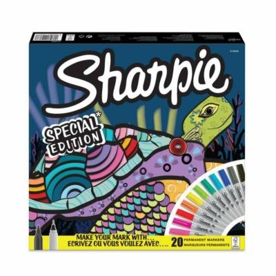 Sharpie Teknős vegyes filctoll készlet (20 db) (Ultrafine + Fine)