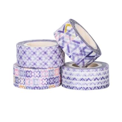 Bentoto mini washi tape szett 01 lila 01