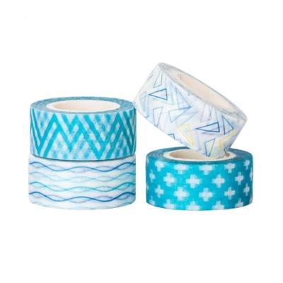 Bentoto mini washi tape szett 01 turkiz 02