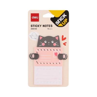 Deli sticky notes cuki állatos üzenő cetli 02