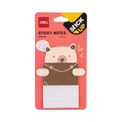 Deli sticky notes cuki állatos üzenő cetli 04