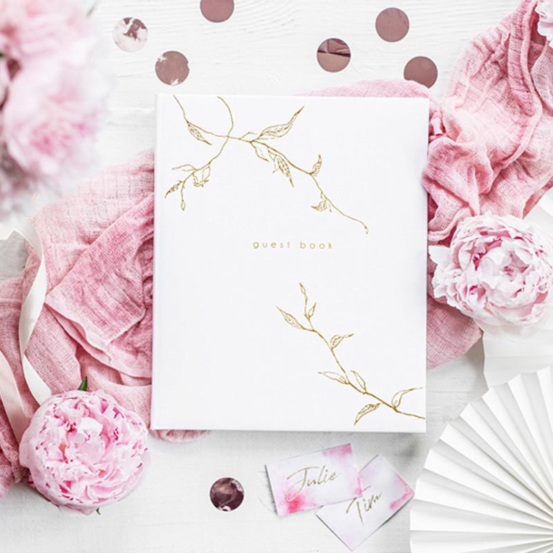 Esküvői Vendégkönyv – Aranyág