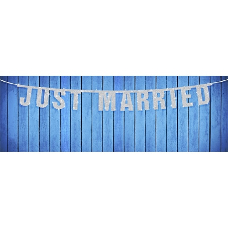Just Married Esküvői Girland