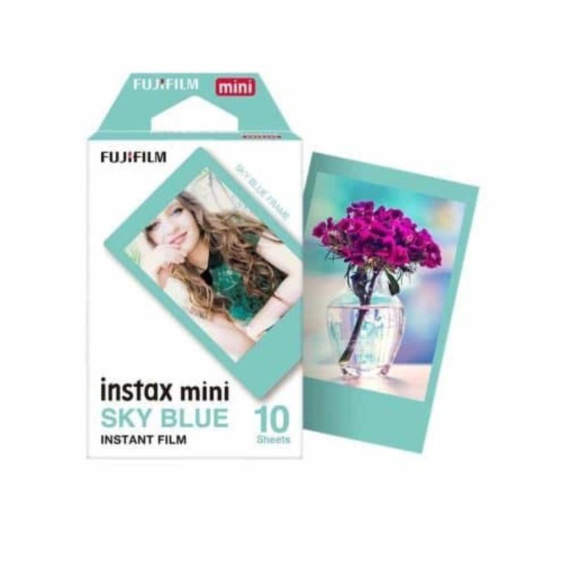 Fujifilm Instax Sky Blue Mini film