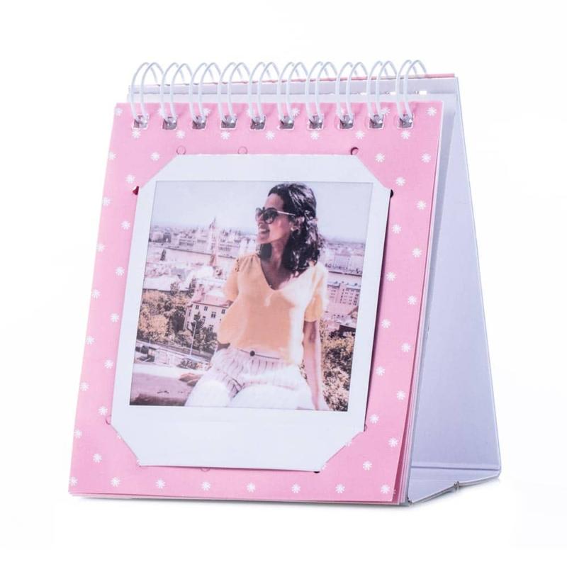 Instax square gyurus asztali album pink 03