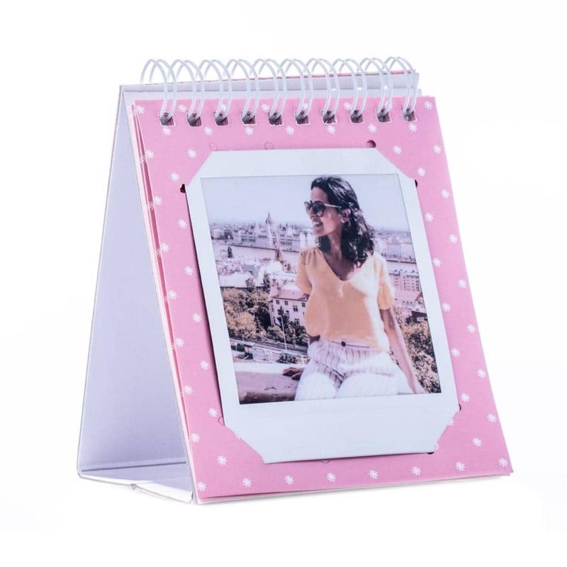 Instax square gyurus asztali album pink 04