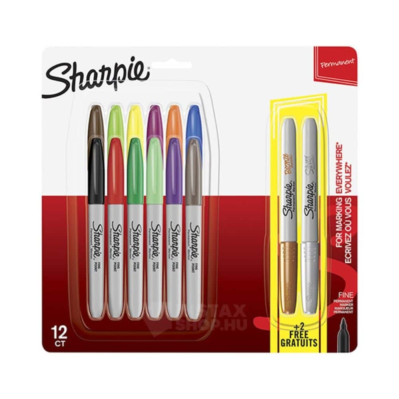Sharpie fine point alkohol marker filc készlet