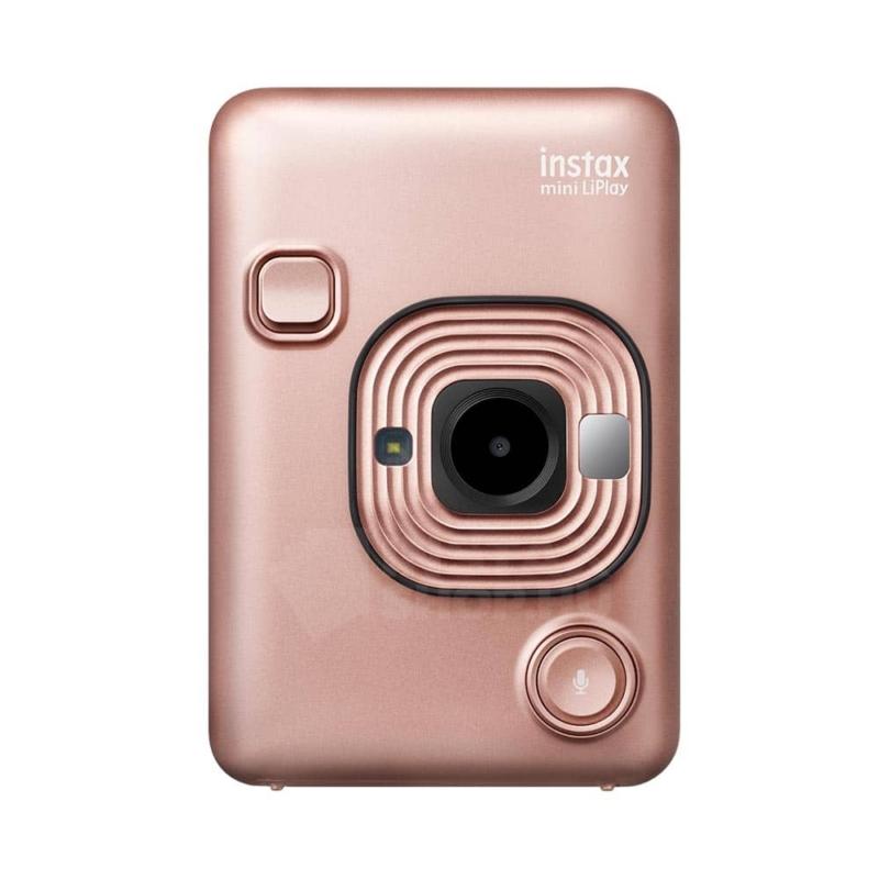 Fujifilm instax mini liplay hibrid fenykepezogep blush gold instaxshop 02