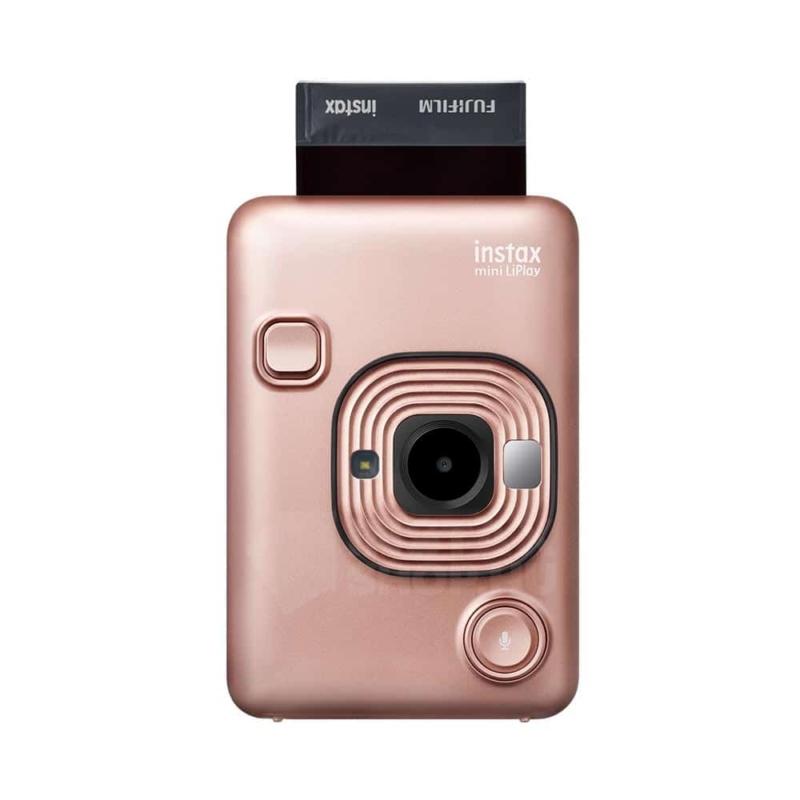 Fujifilm instax mini liplay hibrid fenykepezogep blush gold instaxshop 03