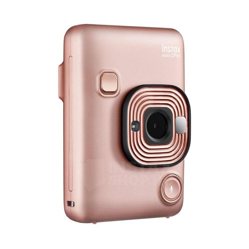 Fujifilm instax mini liplay hibrid fenykepezogep blush gold instaxshop 04