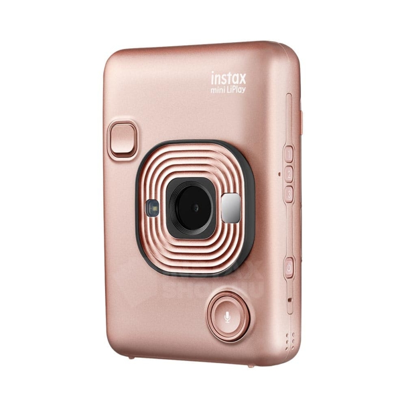 Fujifilm instax mini liplay hibrid fenykepezogep blush gold instaxshop 06