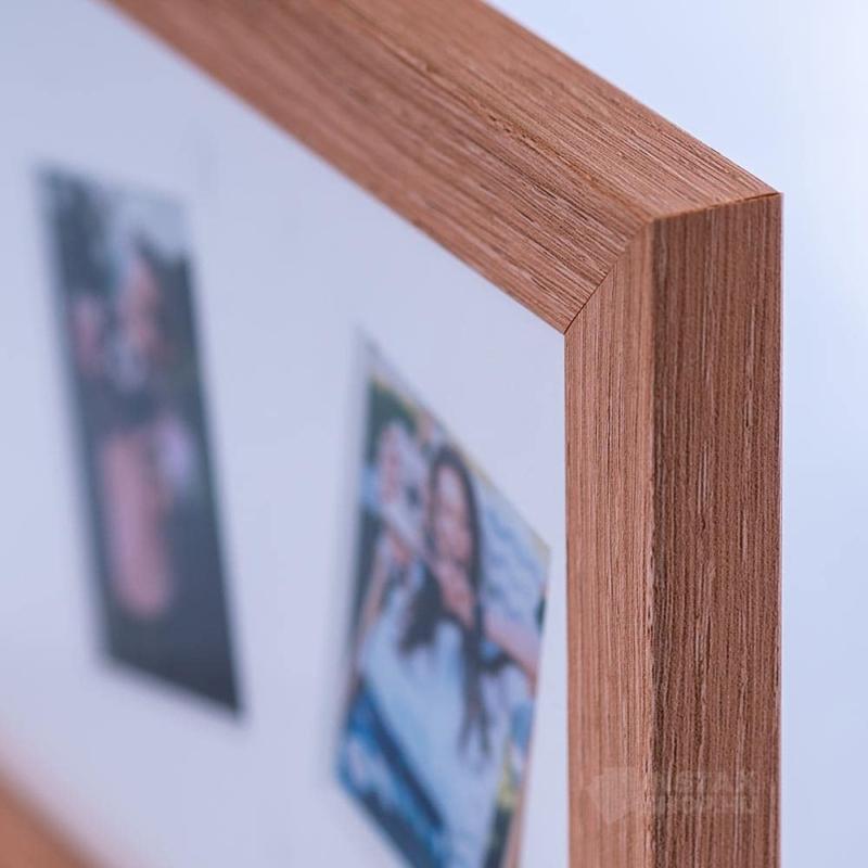 Fujifilm Instax Mini natúr fa képkeret ( 3db fotó)