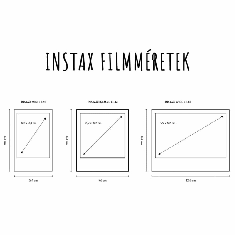 Instax filmmeretek