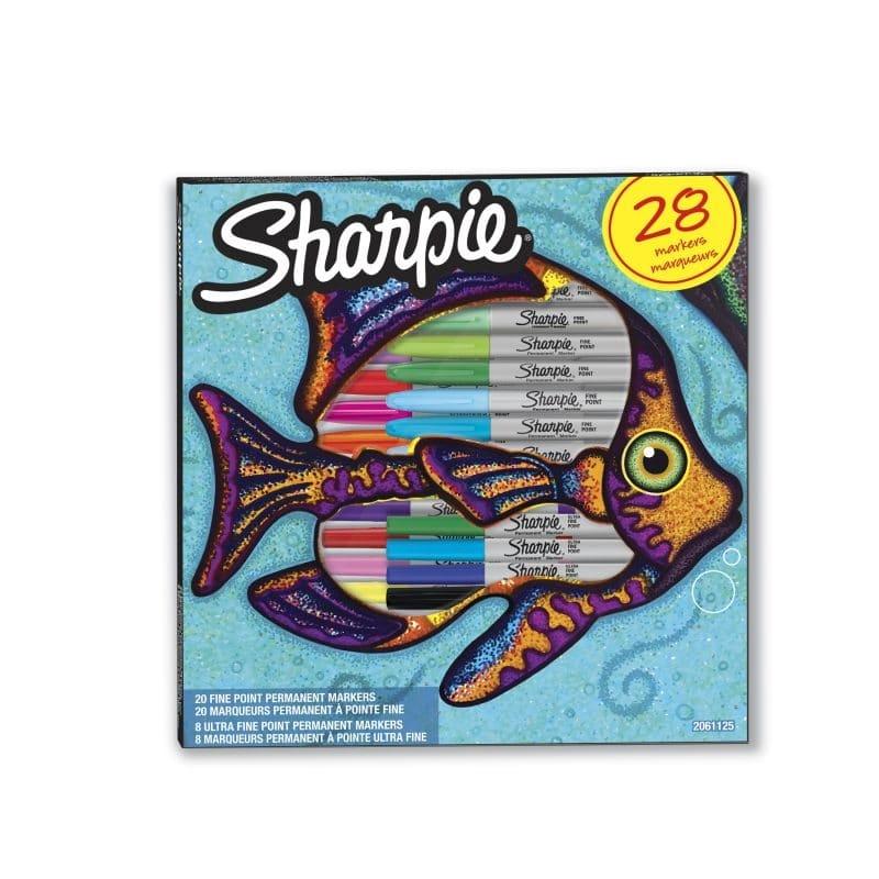 Sharpie Vegyes Színes Permanent Marker filctoll készlet (28 db)