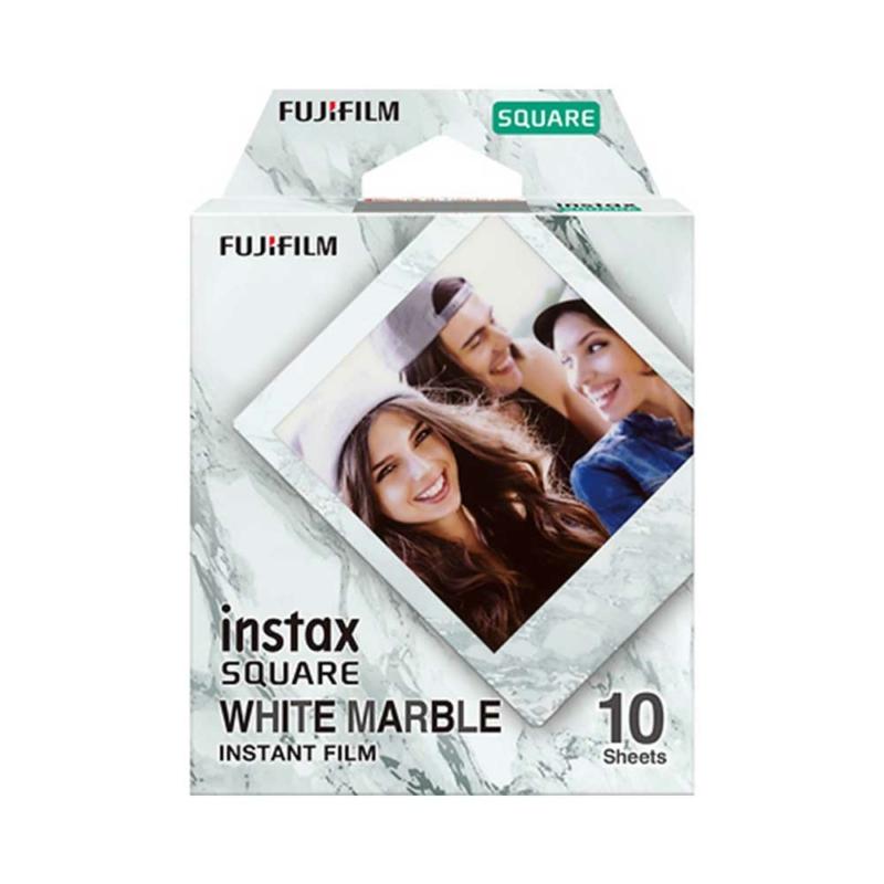 Fujifilm instax square white marble film instaxshop hu 01