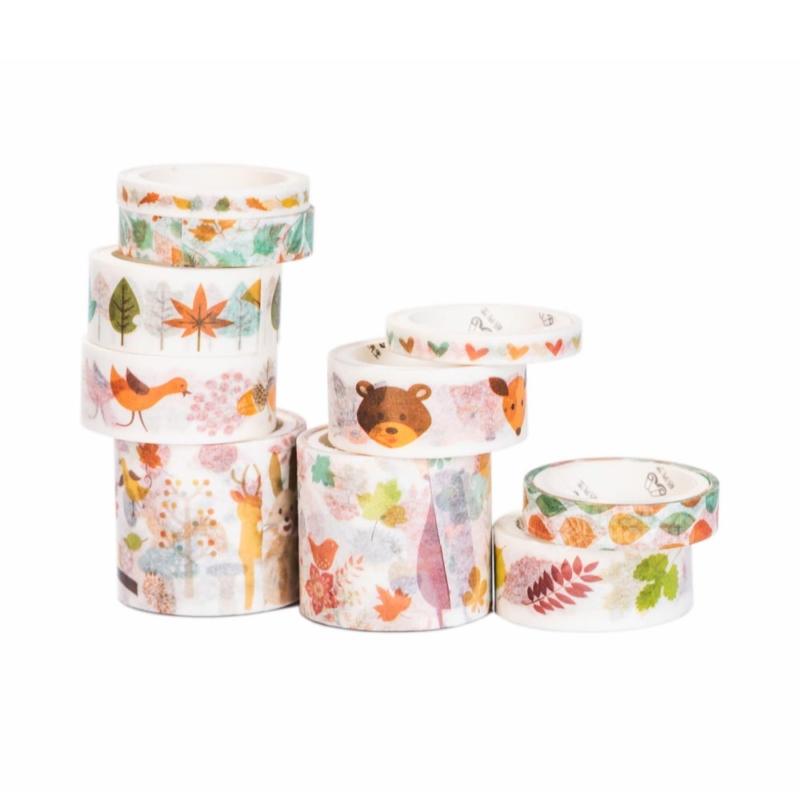 Instax washi tape szett erdei allatkak instaxshop webaruhaz 02