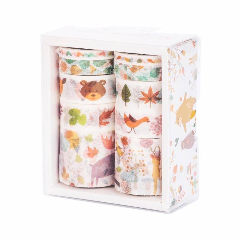 Instax washi tape szett erdei allatkak instaxshop webaruhaz 03