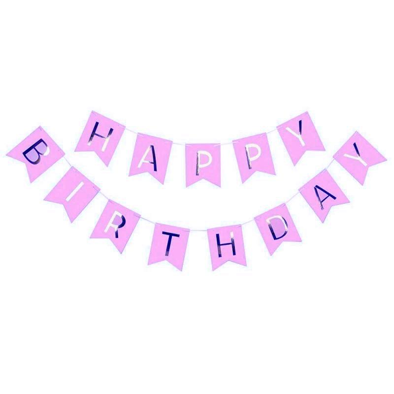 Happy birthday szülinapi dekorzászló 07 800x800