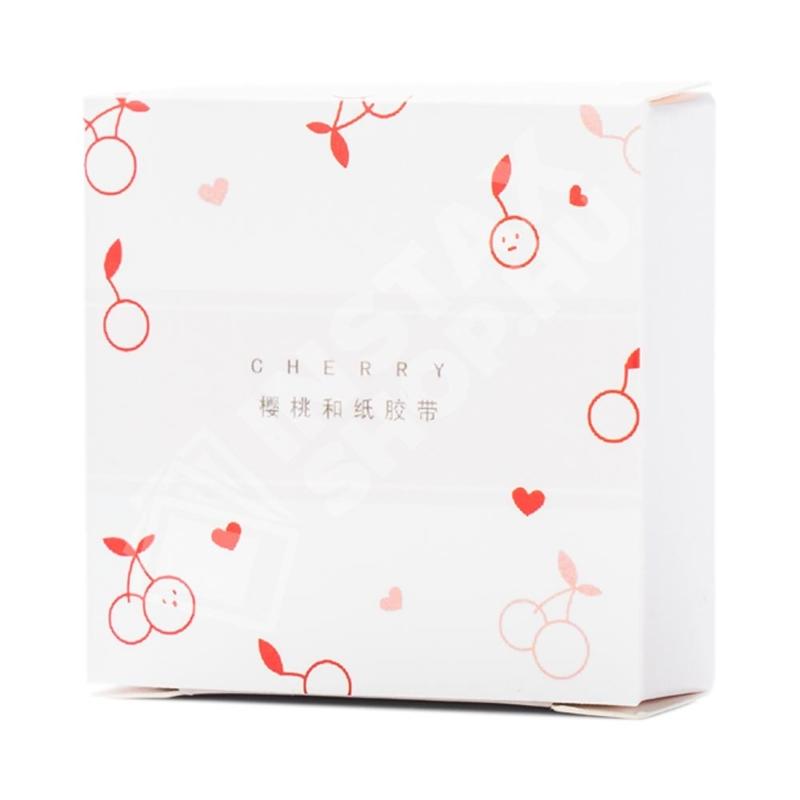 Washi Tape Öntapadós Ragszalag - Cherry