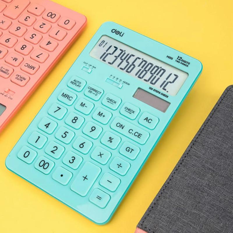 Deli touch asztali számológép 01