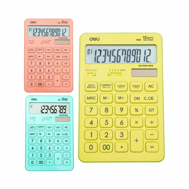 Deli touch asztali számológép 07