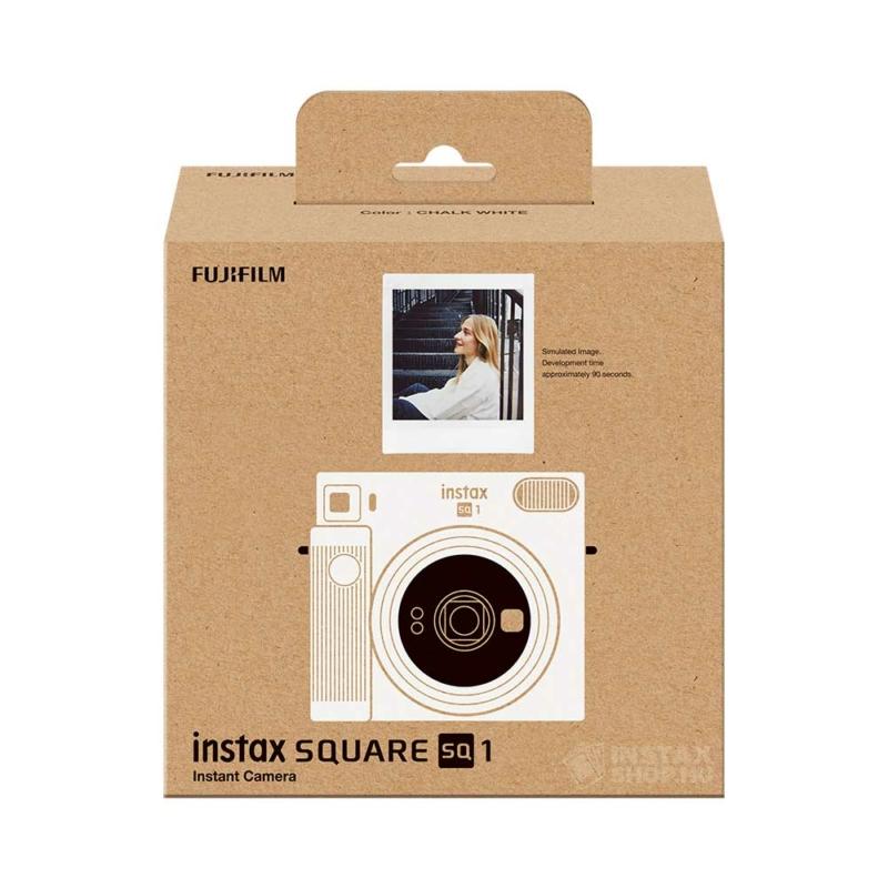 Fujifilm instax square sq1 instant fényképezőgép chalk white instaxshop box 01