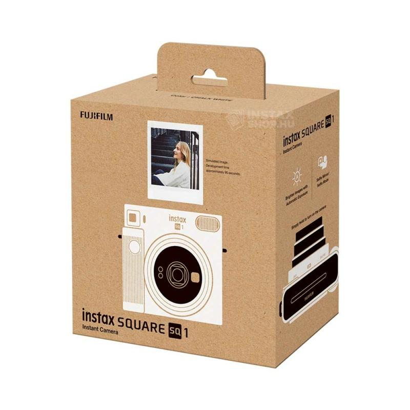 Fujifilm instax square sq1 instant fényképezőgép chalk white instaxshop box 02