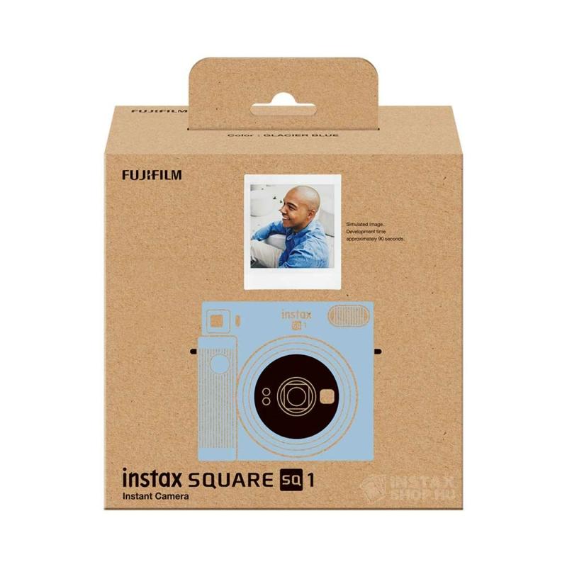 Fujifilm instax square sq1 instant fényképezőgép glacier blue instaxshop box