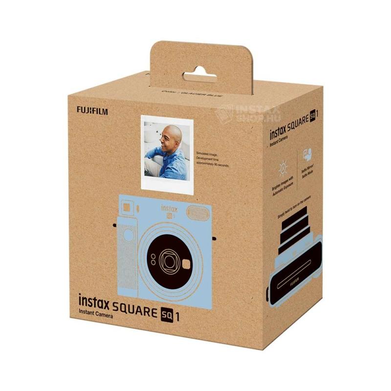 Fujifilm instax square sq1 instant fényképezőgép glacier blue instaxshop box 01