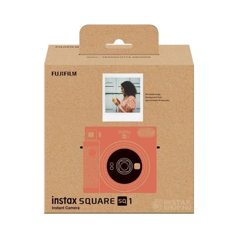Fujifilm instax square sq1 instant fényképezőgép terracotta orange instaxshop box 01