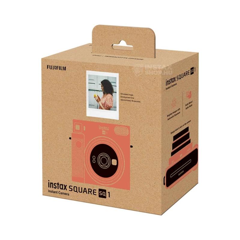 Fujifilm instax square sq1 instant fényképezőgép terracotta orange instaxshop box 02