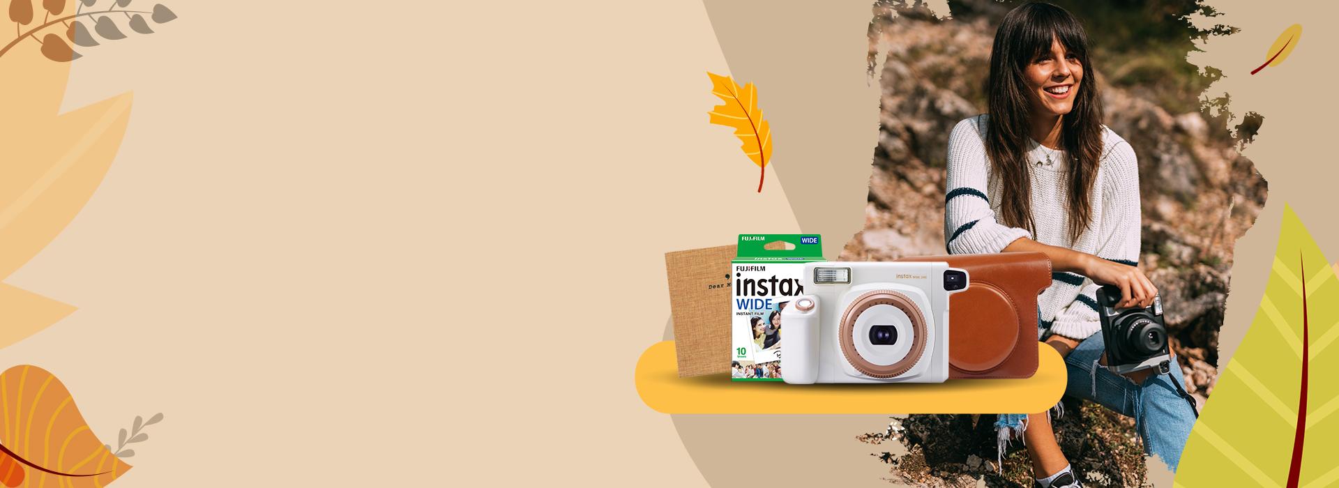 Instax WIDE 300 őszi csomag
